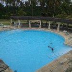 Vista da recepção da piscina 2