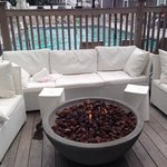 Fire Pit and Family Pool