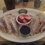 Honey Honey Cafe & Crepery - French Toast