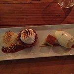 Dessert sampler - yum!