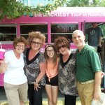 Our family with the Jugg Sisters, July of 2014