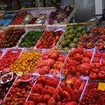 Local Market - 30 types of tomatoes! Delicious...