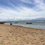 Nice beach to relax or jetski