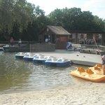 Paddle Boats and Canoes