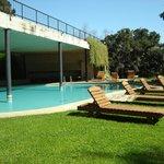 da piscina também se tem vista do Lago Villarrica