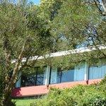 Hotel Antumalal visto de seus jardins