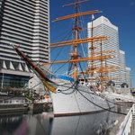The Nippon Maru, now a tourist attraction
