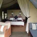 Inside Tent #1