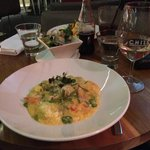CHILL restaurant & bar, goats cheese risotto