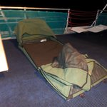 Trip to Australia was complete with sleeping in a swag under the Southern Cross.