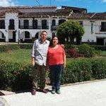 En la plaza de armas de Chachapoyas