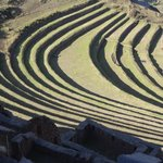 the best agricultural terraces in the   Sacred  Valley of  The  Incas  .  David Expeditions Peru