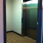 Elevator area.