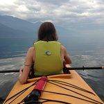 In our tandem kayak