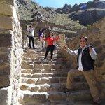 ollantaytambo,  beautiful inca  city ,in the sacred valley