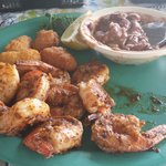 Grilled Shrimp with Red Beans & Rice