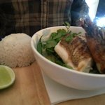 Fish with Thai Green Curry
