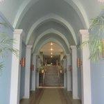 One of the corridor