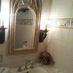 Cool Mirror in powder room