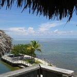 Uitzicht vanuit Rum Runners bar