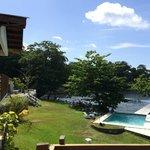 Wilks Bay pool/beach view