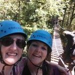 Suspension bridge fun!
