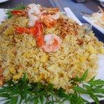 Pineapple fried rice..Nice!!