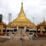 A far view of imposing Pagoda