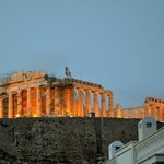 Parthenon in the evening, Athens , Greece