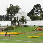 The 19th century conservatory has survived earthquakes