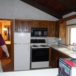 Older cabinets and appliances, but everything in good repair