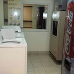 Guest Laundry and Soda Machines
