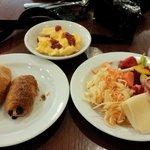 多彩な朝食