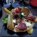 une bonne adresse à Obernai - salade du Sud