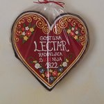 Lectar heart above your bed in the room