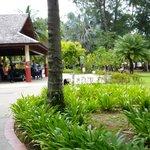 Chegando ao Resort