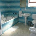 Huge familyroom bathroom