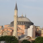 Hagia Sophia view from roof deck