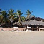 Vue sur la plage d'Ambatoloaka