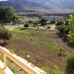 il panorama dalla nostra terrazza!