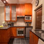 Bachelor Apartment Kitchen