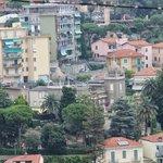 Панорамный вид на Сан Ремо над старым городом