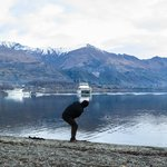 Practice your stone-skipping skills at the lake.