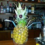 Pineapple delight!Cocktail for 2!!!Just try it!
