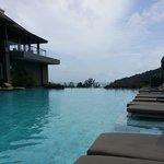Beautiful scenery at the Riverside Pool
