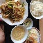 日替わり定食¥650円