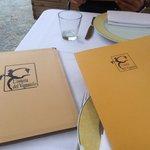 Menù e carta vini