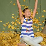 Fun with Autumn Ginko Leaves