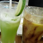 Refreshing Cucumber Juice & Avocado/chocolate Drink