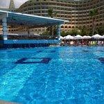 Pool side at Aqua Bar
